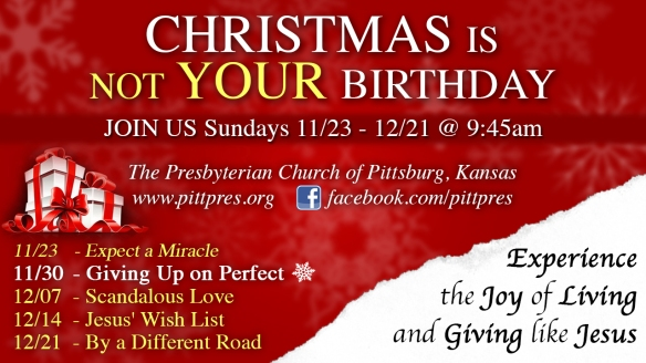 Christmas Is Not Your Birthday 2