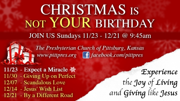 Christmas Is Not Your Birthday FPC